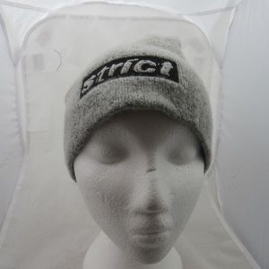 Alexander Wang Strict Embroidered Beanie Grey